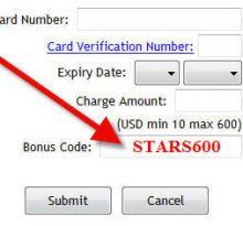 Kode Bonus PokerStars