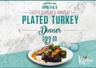 River Cree Turkey Dinner Special in the Kitchen Restaurant
