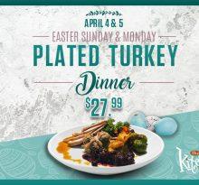 River Cree Turkey Dinner Special in the Kitchen Restaurant